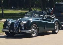 Klassieke Jaguar XK 140